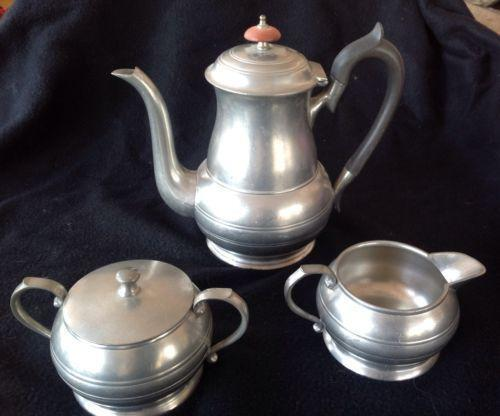 Pewter Tea Set Ebay