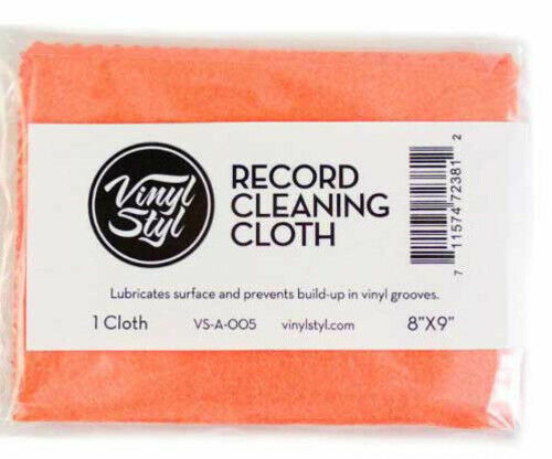 Vinyl Styl™ Lubricated Cleaning Cloth (Single) [New Vinyl Accessory]