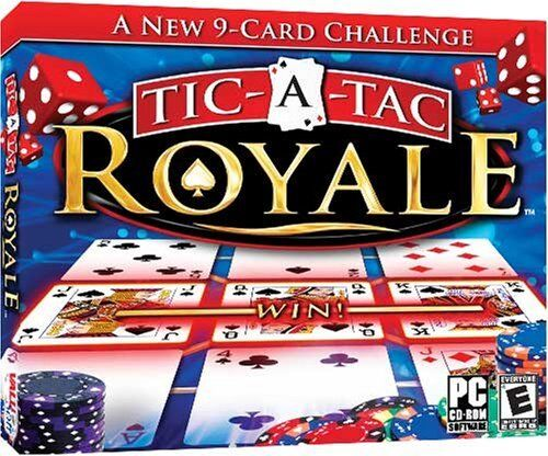 Computer Games - Tic-A-Tac Royale PC Games Windows 10 8 7 XP Computer solitaire card game NEW