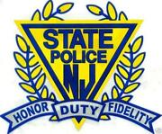 NJ State Police Decal