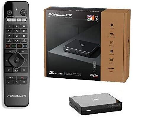 Formuler Z ALPHA NEW 2021 Model 4K Android IPTV Set Top TV Box UK Plug z8 Neo