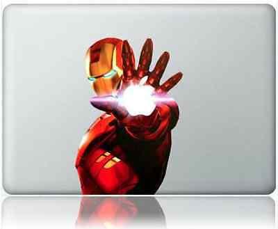 "Iron Man Apple MacBook Pro 13""15""17"" Unibody Vinyl Decal Sticker"