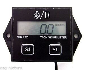 Hour-meter-tach-tachometer-boat-outboard-mercury-yamaha-evinrude-50-200-300-150