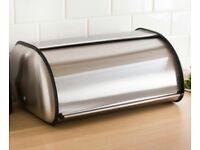 Chrome Bread Bin
