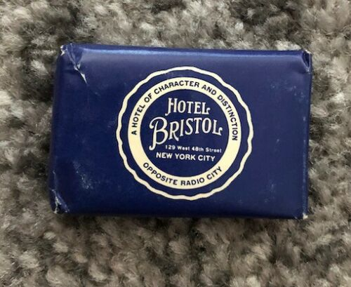 Vintage Original HOTEL BRISTOL CAMAY Sample Bathroom Guest Soap Wrapped Unused