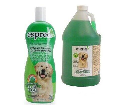 Hypoallergenic Dog Shampoo Tearless Sensitive Skin Aloe Coco