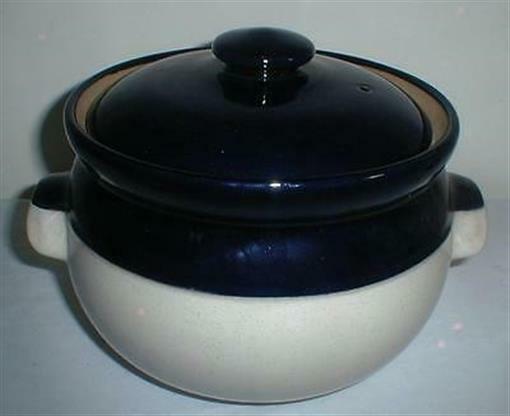 DENBY POTPOURRI BLUE 5 QUART COVERED CASSEROLE - $95.00