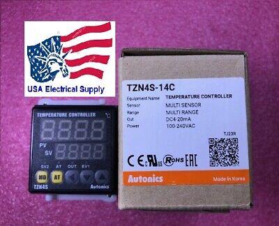 Autonics Tzn4s-14c Pid Temp Control Digitalcurrent Output100-240 Vac