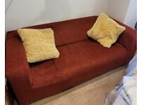 Ikea 2 seater Klippan Sofa and Cover - less than a year old