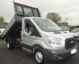 Brand new 66 plate Transit 350 L2 130ps 1-Way Tippers IN STOCK now!!!