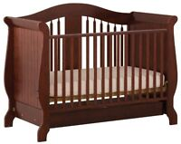 Storkcraft convertable crib and changetable/dresser combo