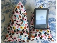 Bean bags for iPad,cushion tablet stands for