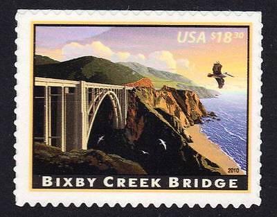 SC 4439  BIXBY CREEK BRIDGE  EXPRESS  MAIL  2010 MNH