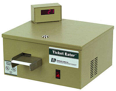 New Deltronics DL5000 Table Top Ticket Eater and Counter - Free Shipping