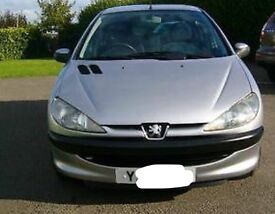 Peugeot 206 1.4 LX automatic with private number plate worth £500