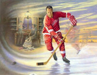 "James Lumbers""Mr. Hockey"" autographed by Gordie Howe"