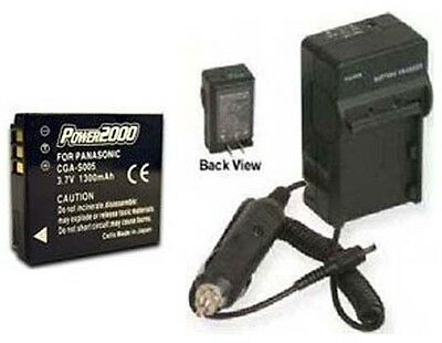 Battery + Charger For Panasonic Dmclx9 Dmclx9s Dmc-fx180s Dmc-fx100k Dmc-fx100s