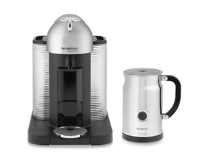 NESPRESSO Vertuoline with Aeroccino Milk Frother