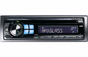 ALPINE CDE-9846 Car Stereo, Great Sound
