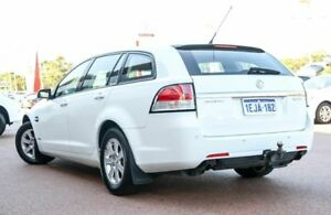 2010 Holden Commodore VE MY10 Omega Sportwagon Heron White 6 Speed Sports Automatic Wagon