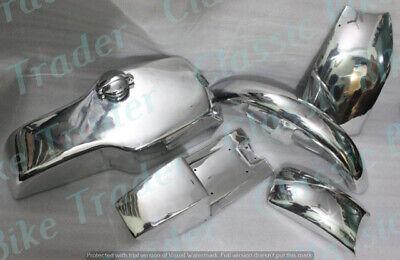 YAMAHA TZ RD250 RD350 TD STEEL BODY KIT CHROME PLATED