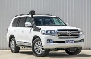 2016 Toyota Landcruiser VDJ200R Sahara White 6 Speed Sports Automatic Wagon Willetton Canning Area Preview