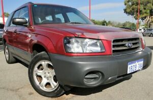 2005 Subaru Forester 79V MY05 X AWD Red 5 Speed Manual Wagon Bellevue Swan Area Preview