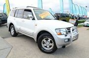 2000 Mitsubishi Pajero NM Exceed White 5 Speed Sports Automatic Wagon Woodridge Logan Area Preview