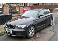 BMW 1 SERIES 2.0 118D SE 5DR Manual (black) 2007