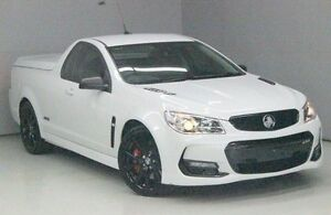 2016 Holden Ute VF II MY16 SS V Ute Redline White 6 Speed Sports Automatic Utility Greensborough Banyule Area Preview