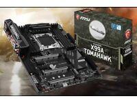 MSI X99a Motherboard & 5820k CPU