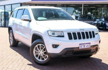 2015 Jeep Grand Cherokee WK MY15 Laredo 4x2 White 8 Speed Sports Automatic Wagon