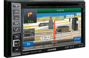 "Alpine INE-W940 Double DIN Navigation 6.1"" touchscreen monitor"