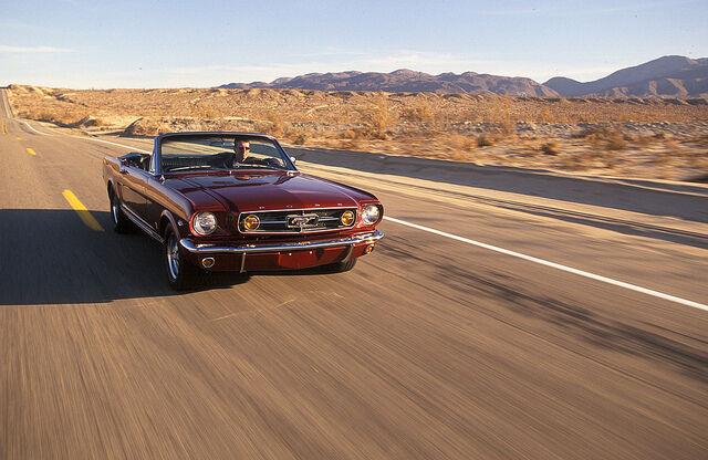 Für viele ist der Mustang der Inbegriff von Freiheit (Ford Europe (CC BY-NC 2.0))