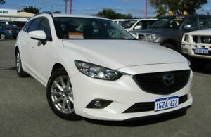 2014 Mazda 6 GJ1031 Sport SKYACTIV-Drive White 6 Speed Sports Automatic Wagon Bellevue Swan Area Preview