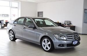 2011 Mercedes-Benz C200 W204 MY10 CGI Silver 5 Speed Auto Tipshift Sedan Morley Bayswater Area Preview