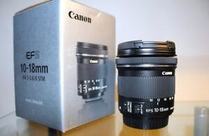 Canon EFS 10-18mm Ultra Wide Lens