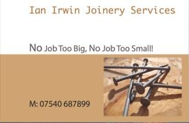 Ian Irwin Joinery Services