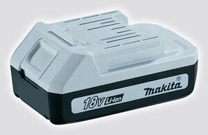 GENUINE Makita BL1813G 18V 1.3Ah Lithium Ion Li-ion Battery for HP457 & TD127