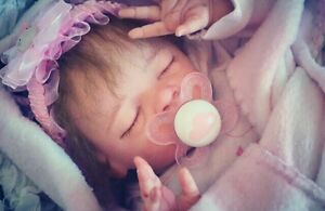 Daisy by bonnie brown reborn doll life like baby Berwick Casey Area Preview