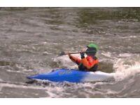 Pyranha Inazone 232 blue and white Kayak