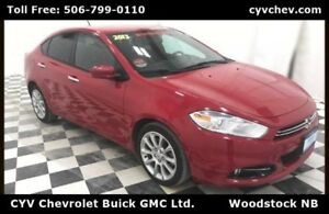 2013 Dodge Dart Limited/GT - Heated Leather Seats & Steering Whe