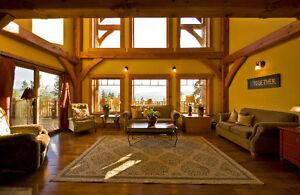 Naramata timber frame home