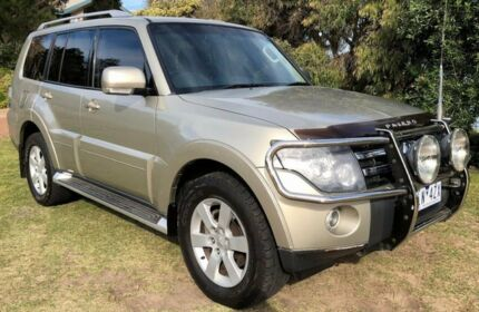 2008 Mitsubishi Pajero NS VR-X 5 Speed Sports Automatic Wagon Heatherton Kingston Area Preview