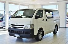 2008 Toyota Hiace KDH201R MY07 Upgrade LWB White 5 Speed Manual Van Hillman Rockingham Area Preview