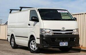 2012 Toyota Hiace KDH201R MY11 LWB White 5 Speed Manual Van Wangara Wanneroo Area Preview
