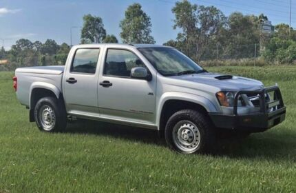 2010 Holden Colorado RC MY10 LX Silver 5 Speed Manual 4D UTILITY