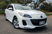 2013 Mazda 3 BL10F2 MY13 Neo Activematic Pearl White 5 Speed Sports Automatic Hatchback Hyde Park Unley Area Preview