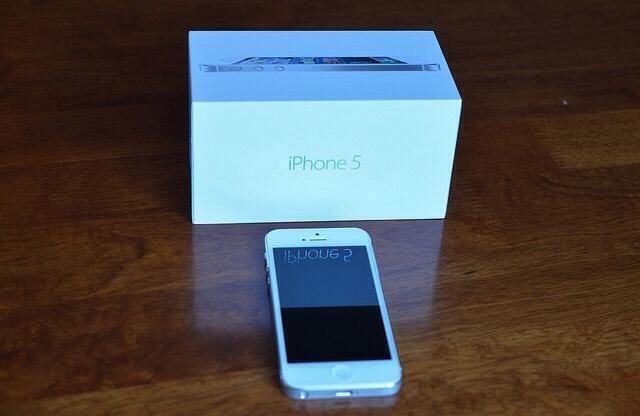 Iphone 5 16gb Box Iphone 5 16gb White o2