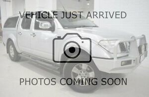 2008 Nissan Navara D40 ST-X Silver 6 Speed Manual Utility West Launceston Launceston Area Preview